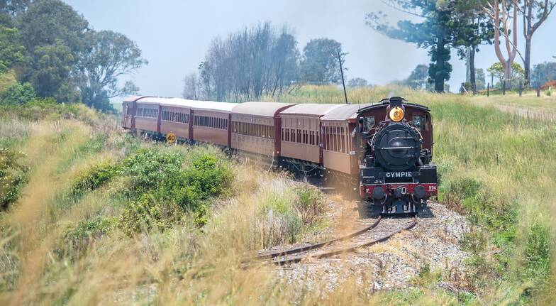 Mary Valley Rattler Steam Train Experience  Sunday