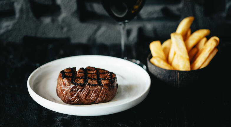 2 Course Steakhouse Dinner  For 2  Southbank
