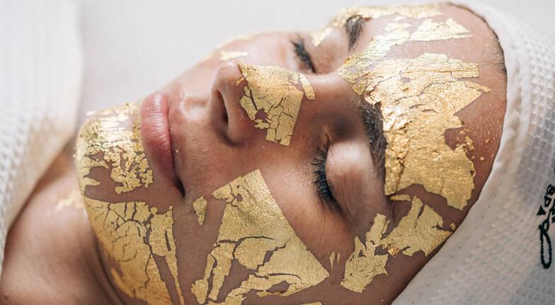 24K Gold Leaf Facial - 90 Minutes