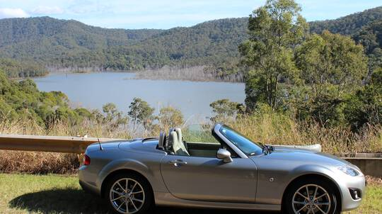 1 Day Mazda MX5 NC Car Hire - Gold Coast - For 2