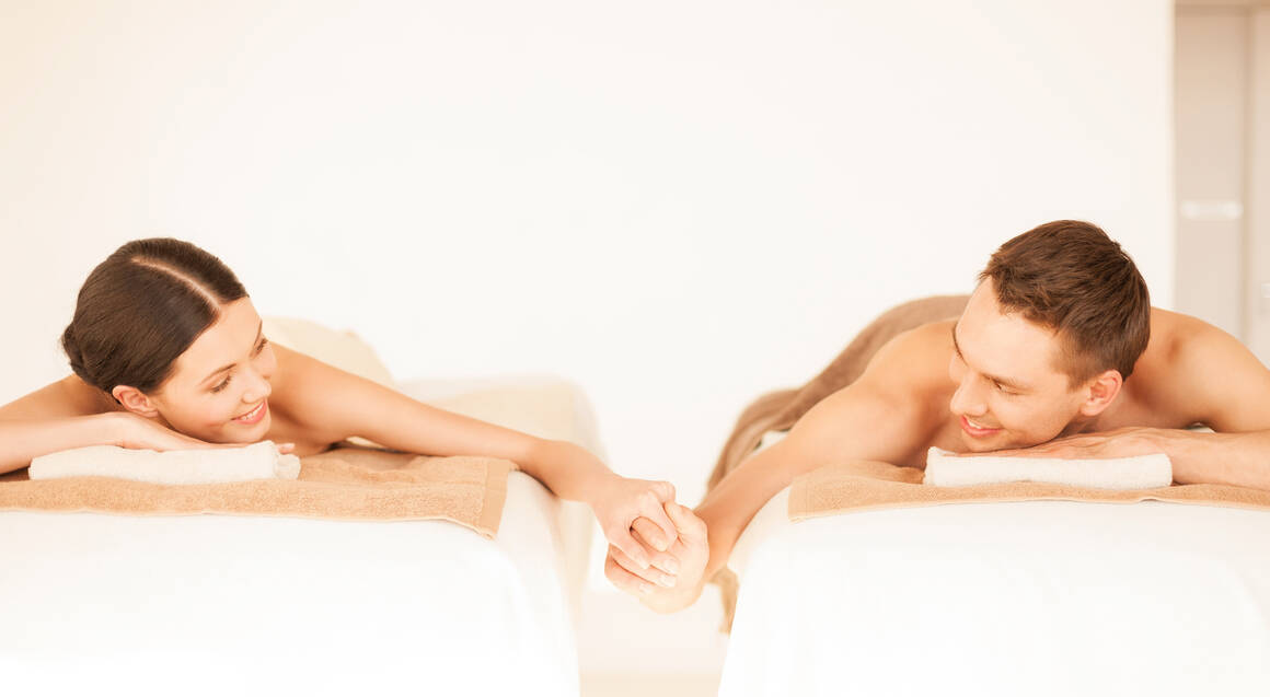 Massage, Thermal Mud Treatment and Salt Glow - For 2