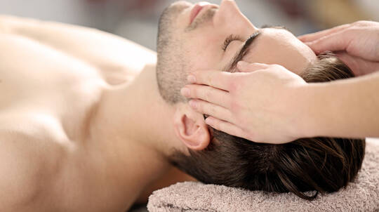 Massage, Facial and Body Polish - 2 Hours - For Men