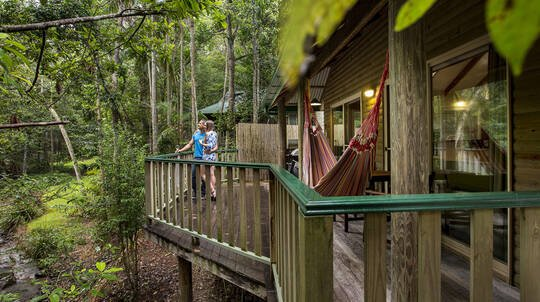 Two Night Romantic Rainforest Retreat with Dinner - For 2