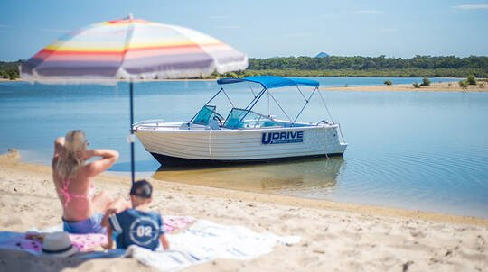 Be Your Own Skipper on the Noosa River- 4 Hours- For up to 8