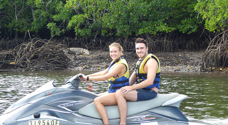 Crocodile Spotting Guided Jet Ski Tour  1 Hour