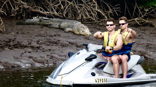 Crocodile Spotting Guided Jet Ski Tour - 1 Hour