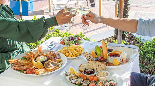 Indulgent Seafood Dining Experience by the Harbour - For 2