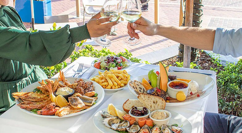 Indulgent Seafood Dining Experience by the Harbour  For 2
