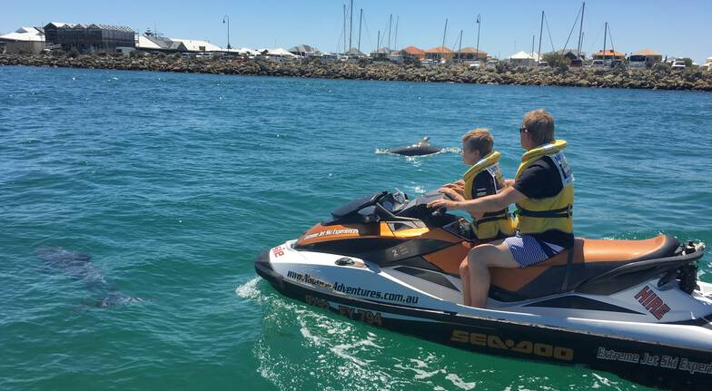 Estuary Jet Ski Tour - 60 Minutes - For 2
