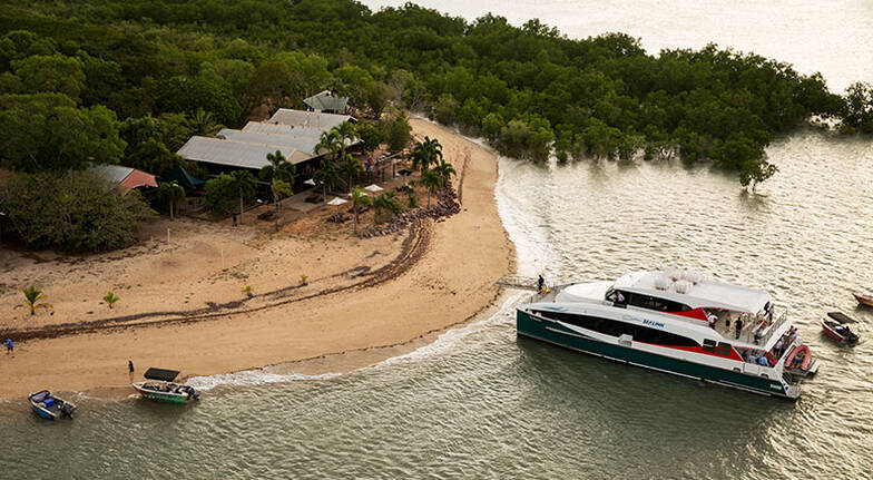 Cruise to Crab Claw Island with Seafood Feast  Full Day