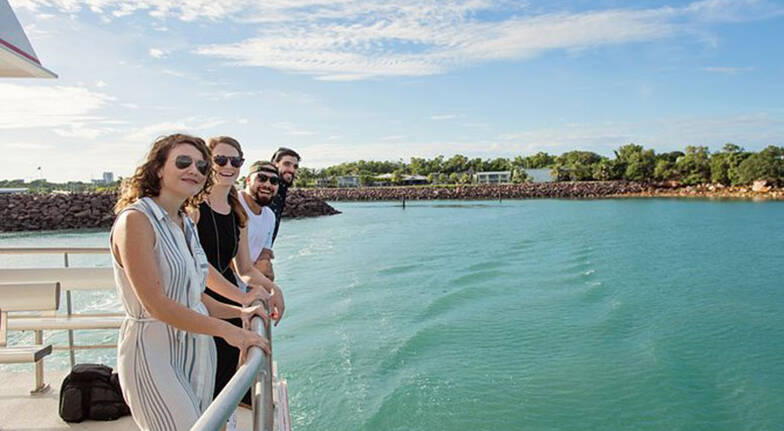Darwin Harbour Sightseeing Cruise  45 Minutes