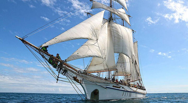 2 Night Tall Ship Masterclass with Accommodation and Meals