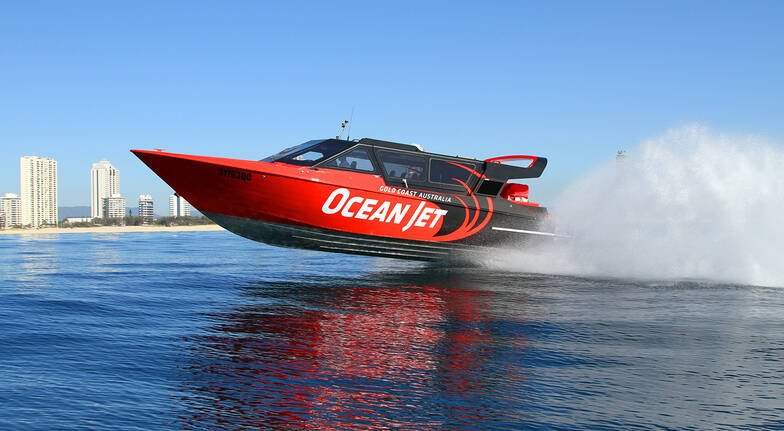 Jet Boat Ocean Thrill Ride - 45 Minutes - For 2