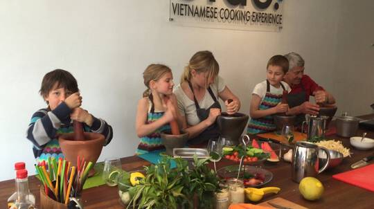 Parent and Child Asian Cooking Class - 2 Hours