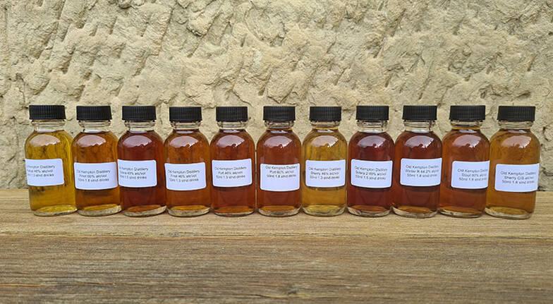 Old Kempton Distillery Personalised Whisky Tasting Pack
