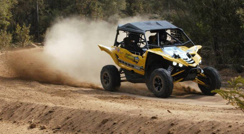 Yamaha Buggy Drive with Hot Laps  14 Laps  Sydney