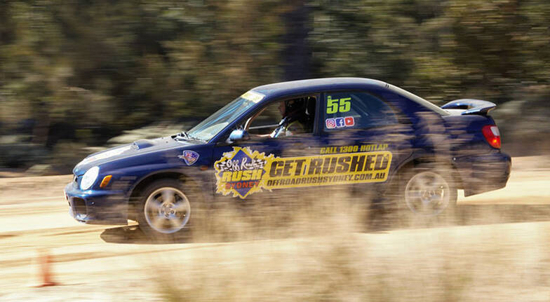 Rally Drive and Hot Lap  9 Laps  Sydney