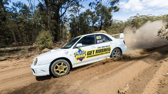 Rally Drive and Hot Lap - 13 Laps - Sydney
