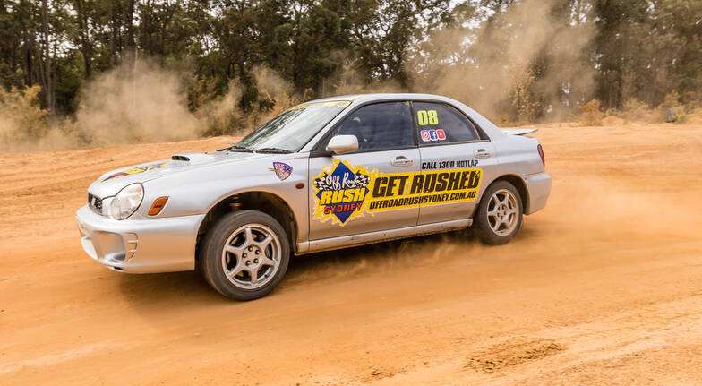 Rally Drive and Buggy Hot Lap - 9 Laps - Sydney