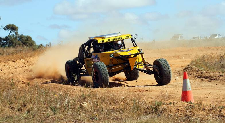 Rally Car and V8 Buggy Drive Experience - 18 Laps - Adelaide