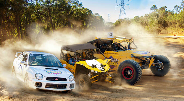 Drive 3 Off Road Race Cars - 20 Laps - Melbourne