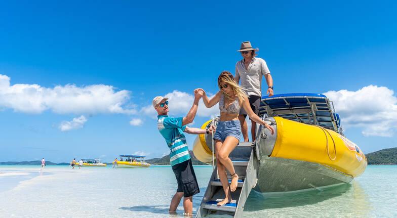 Whitsundays Island Adventure Walking and Swimming - Full Day