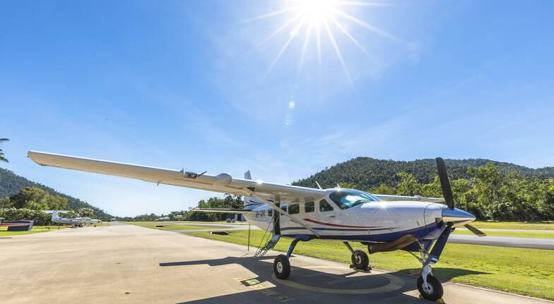 Whitsundays Scenic Flight, Rafting and Swimming - Full Day