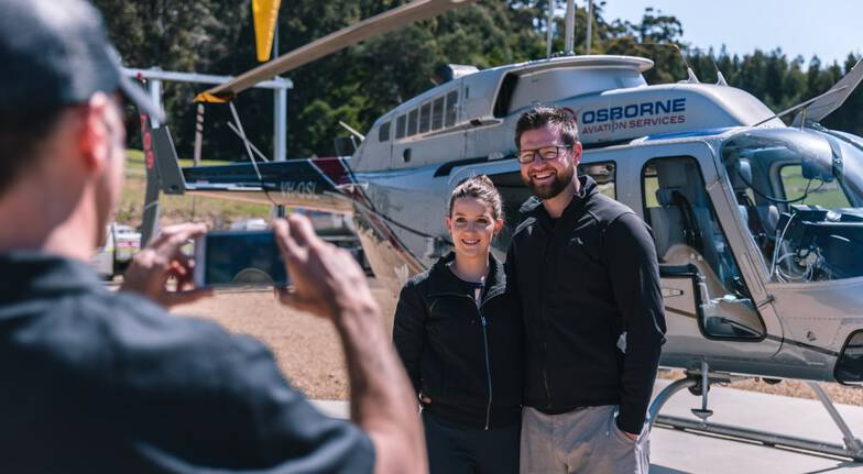 Port Arthur Scenic Helicopter Flight - 15 Minutes - For 2