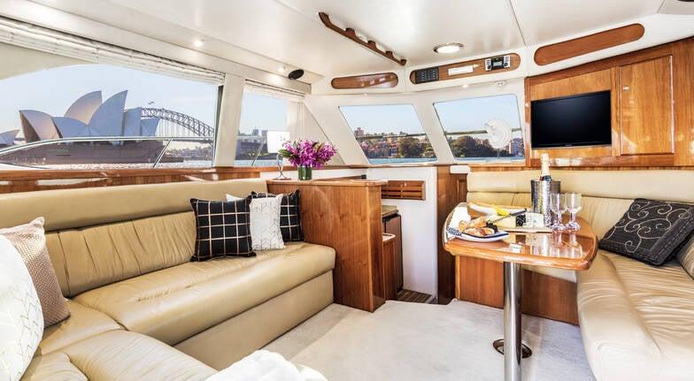 Sydney Harbour Progressive Long Lunch Cruise