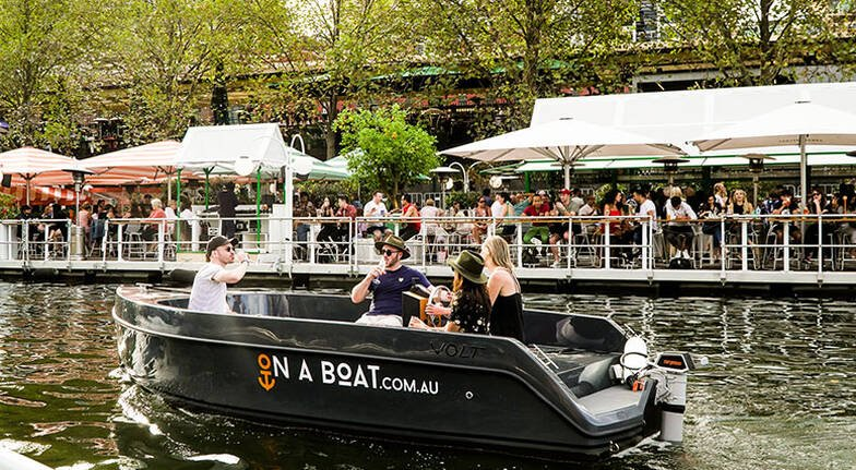 Be Your Own Skipper on the Yarra River  2 Hours