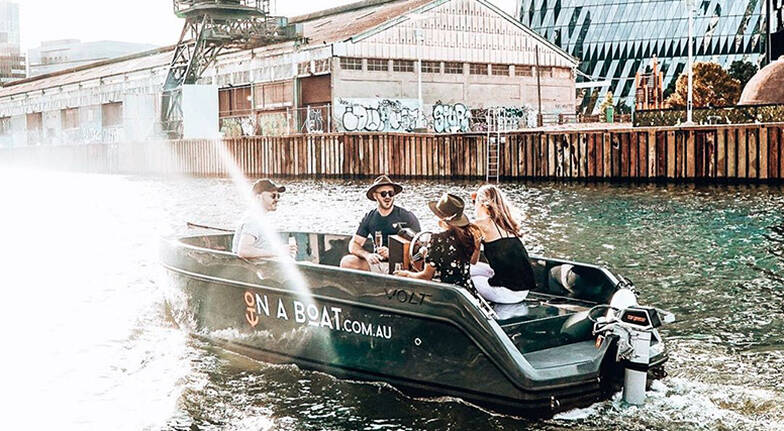 Be Your Own Skipper on the Yarra River  3 Hours