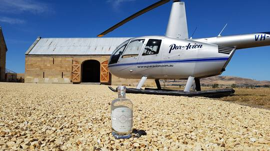 Scenic Helicopter Flight and Food, Wine and Gin Trail
