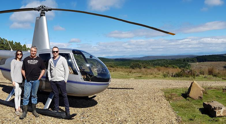 Scenic Helicopter Flight and Food, Wine and Cider Trail