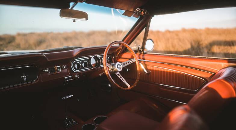 1965 Ford Mustang Convertible Car Hire  6 Hours  Midweek