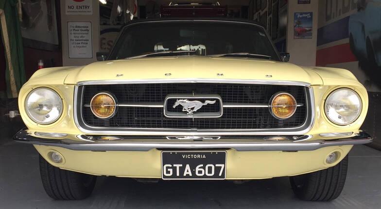 1967 GTA Mustang Convertible Car Hire - 6 Hours - Midweek