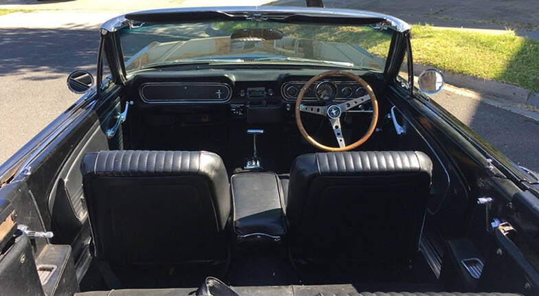 1966 Ford Mustang Convertible One Day Self Drive  Midweek