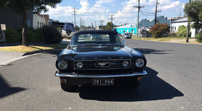 1966 Ford Mustang Convertible One Day Self Drive  Weekend