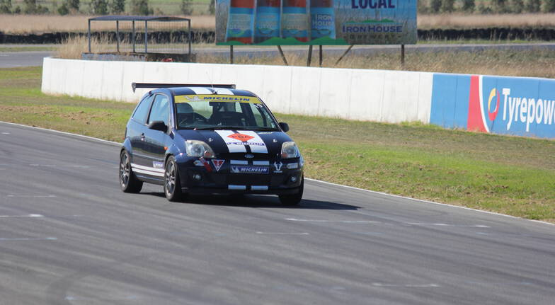 Fiesta Racecar Drive Experience at Symmons Plains - 5 Laps