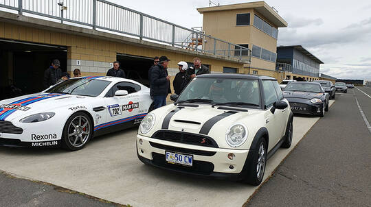 Mini Cooper S Driving Experience at Symmons Plains - 10 Laps