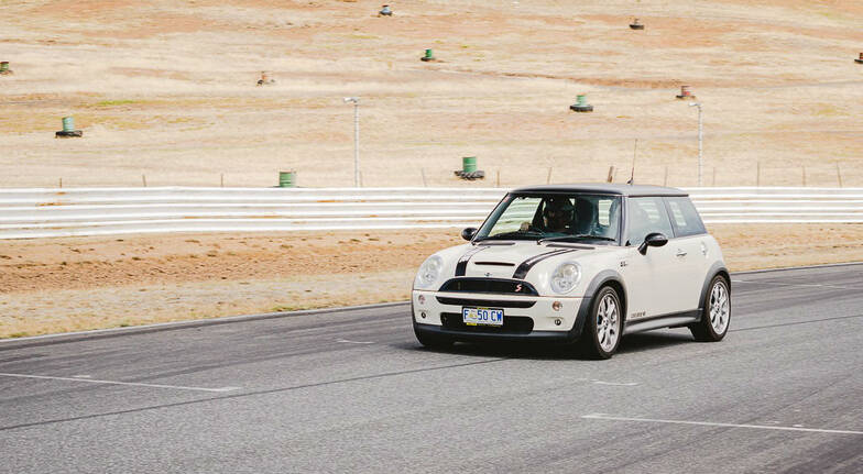 Drive a Mini Cooper S at Baskerville Raceway  10 Laps