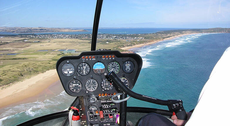 12 Minute Helicopter Flight over Phillip Island - For 2