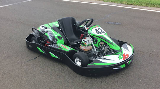 Junior Outdoor Karting - 2 x 10 Minute Intervals