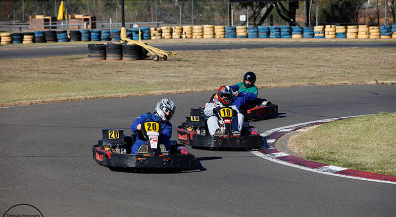 Drive Karting Challenge  3 x 10 Minute Intervals  For 2