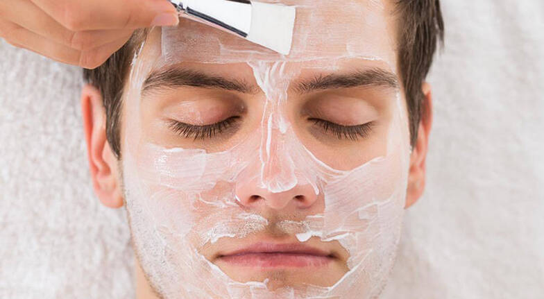 Mens Express Facial Massage and Exfoliation  Springfield