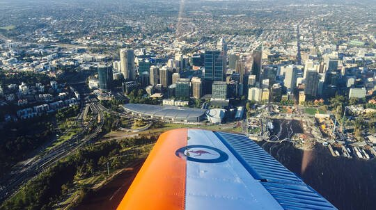 Perth City Scenic Flight in CT/4A Warbird - 30 Minutes