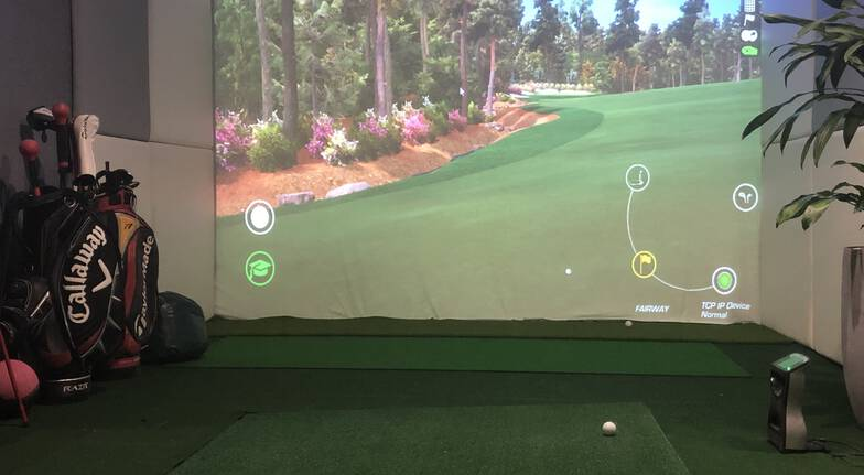 Indoor Golf Simulator Lesson - 90 Minutes