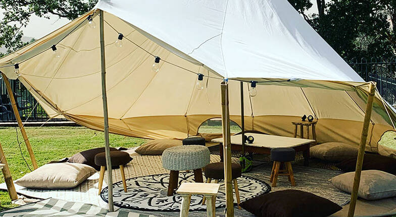 2 Night Glamping Tent Hire  For 2