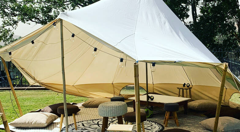 2 Night Family Glamping Tent Hire - For up to 5