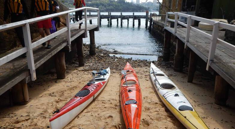 Guided Kayak Tour to Goat Island - 3.5 Hours