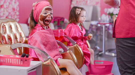 Kids' Makeover with Facial, Manicure and Pedicure - Coomera